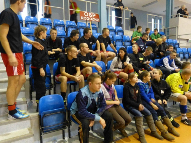 You are browsing images from the article: I Wojewódzki Turniej Halowej Piłki Nożnej OSP
